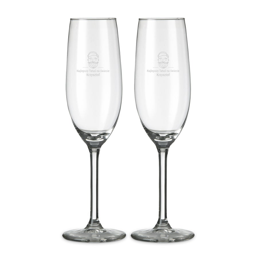 Kieliszki do szampana - 2 sztuki