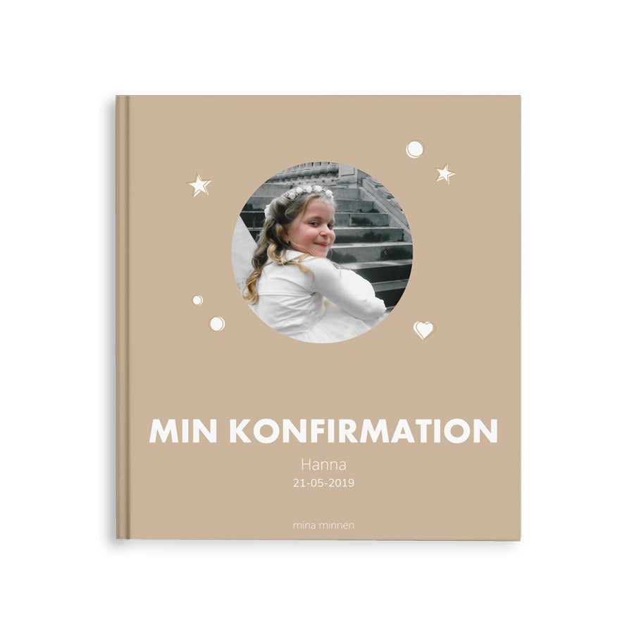 Fotobok -  Konfirmation - M - Hardcover - 40