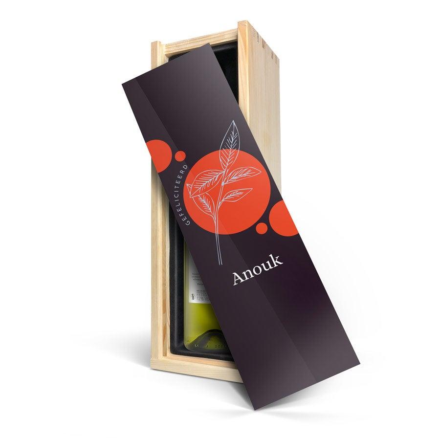 Wijn in bedrukte kist - Maison de la Surprise - Sauvignon Blanc