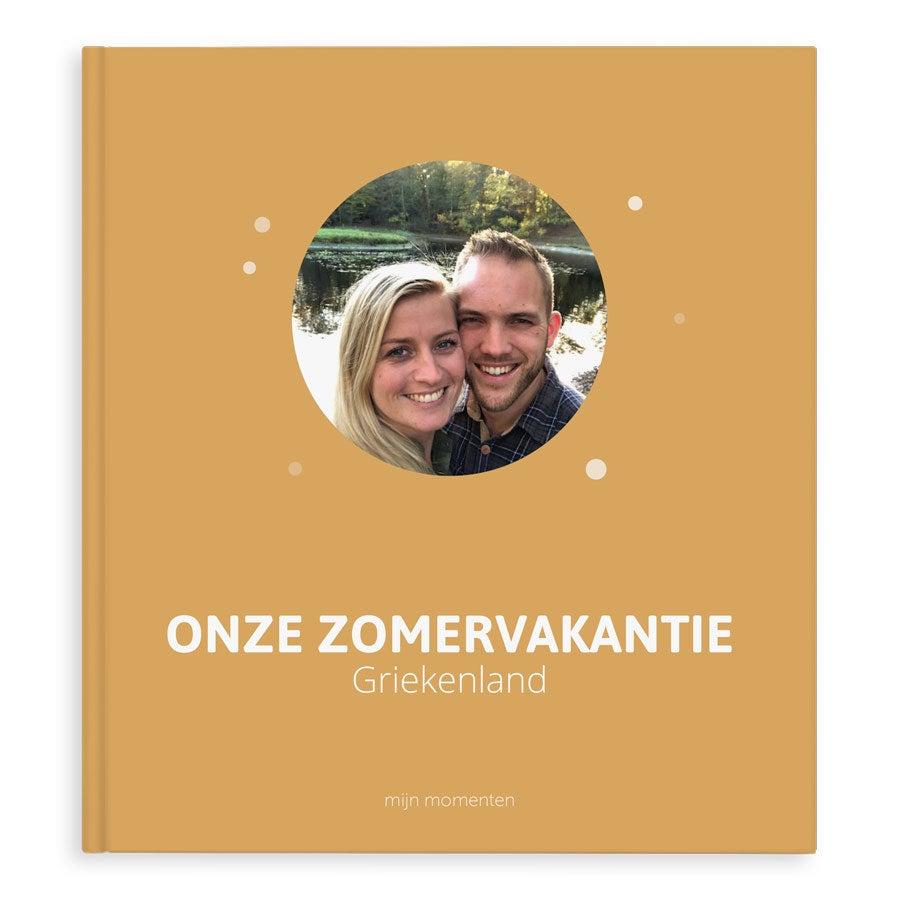 Fotoboek maken - Onze zonvakantie - XL - Hardcover - 40 pagina's