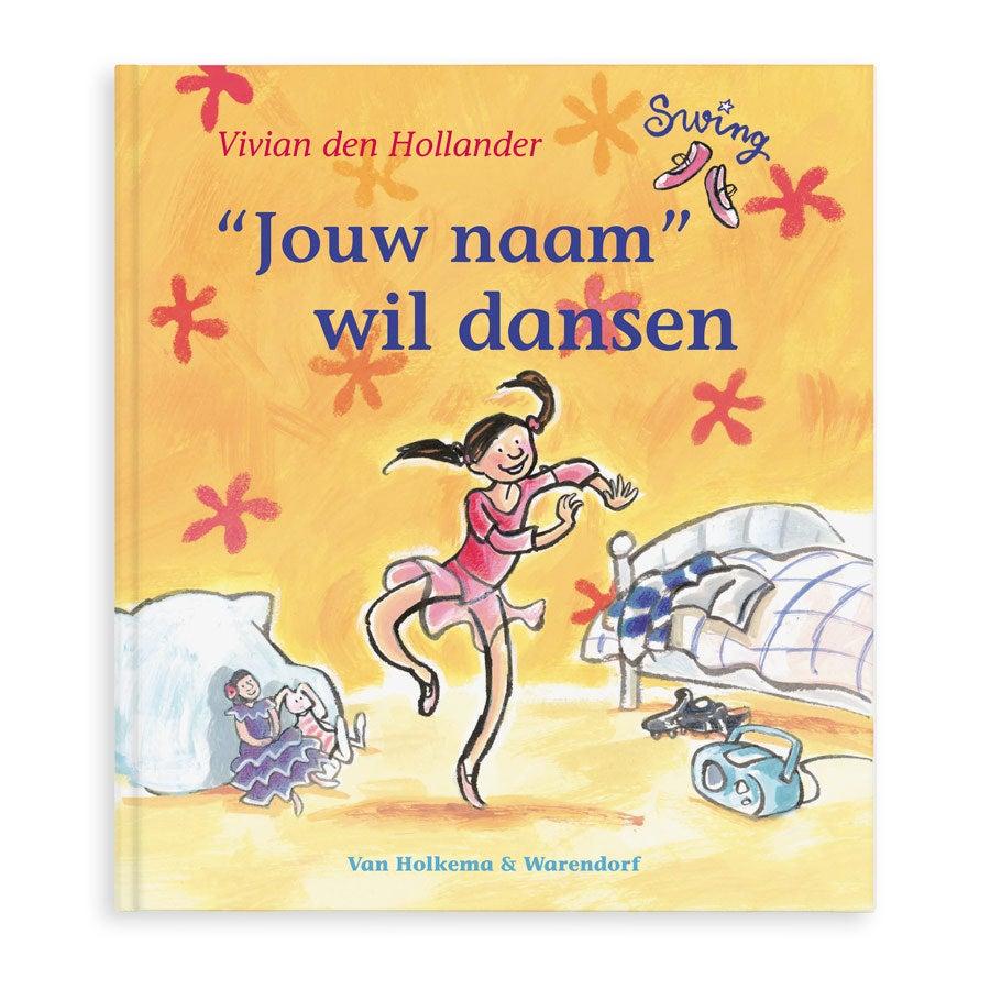Boek met naam en foto - Pip wil dansen - Softcover