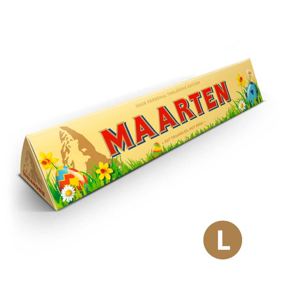 Toblerone chocoladereep - Pasen - 360 gram