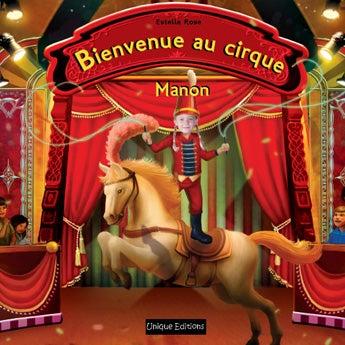 Livre personnalisé - Bienvenue au cirque