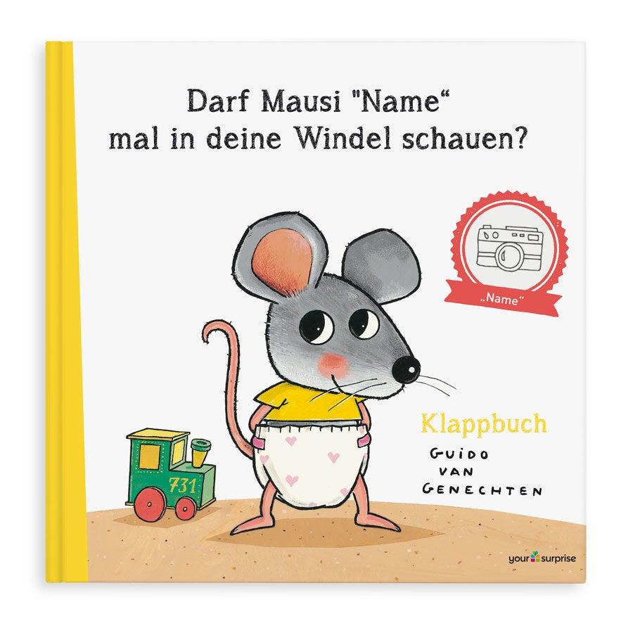 Kinderbuch mit Namen - Darf Mausi mal in deine Windel schauen?- XXL