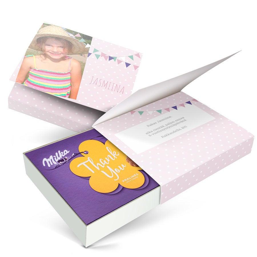 I love Milka -suklaarasia - Syntymäpäivä - 220 grammaa