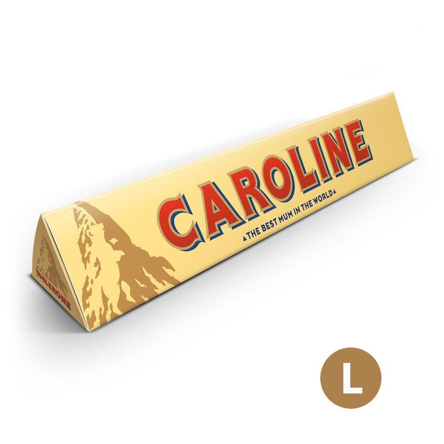 Barretta di cioccolato Toblerone per la Festa della Mamma - 360 grammi