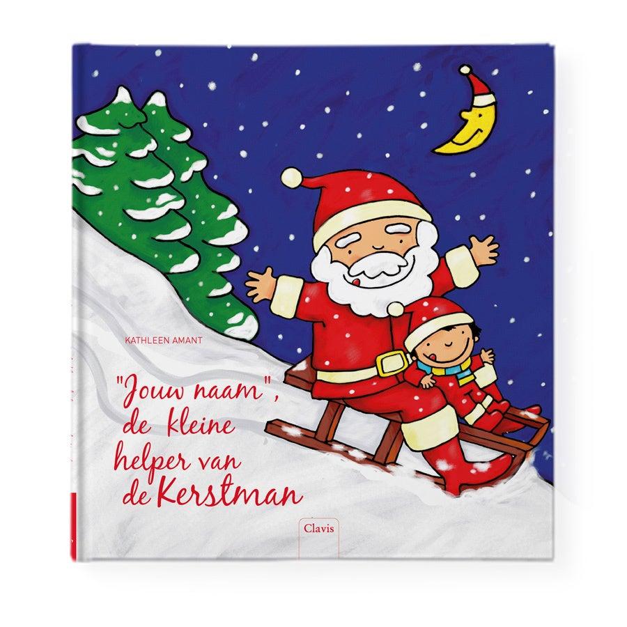 Boek met naam - Kerstmanboek - Hardcover