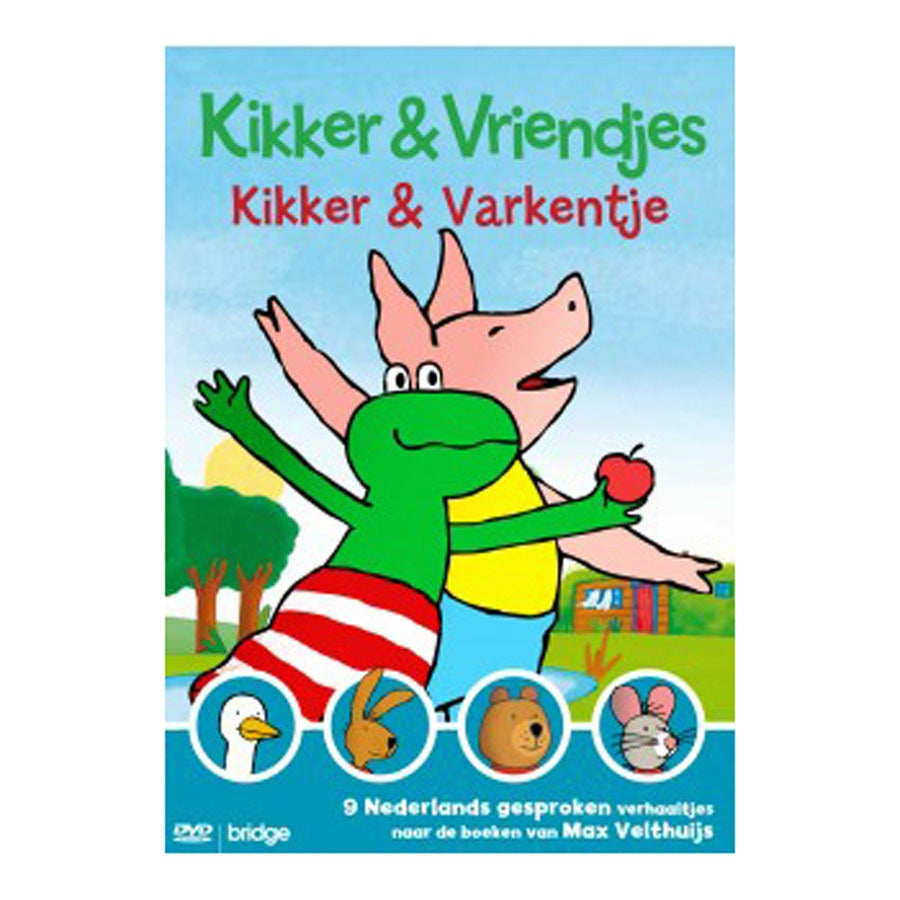 Kikker DVD - Kikker & Varkentje