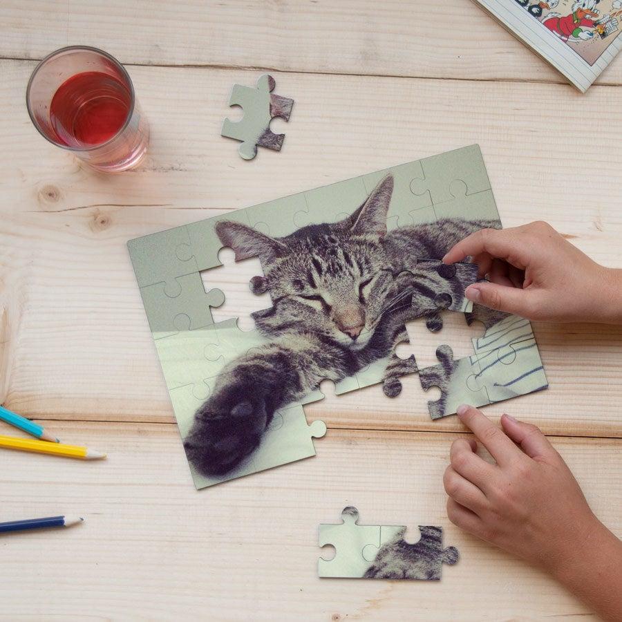 Fotopuzzle - Klein (Hartfaser)