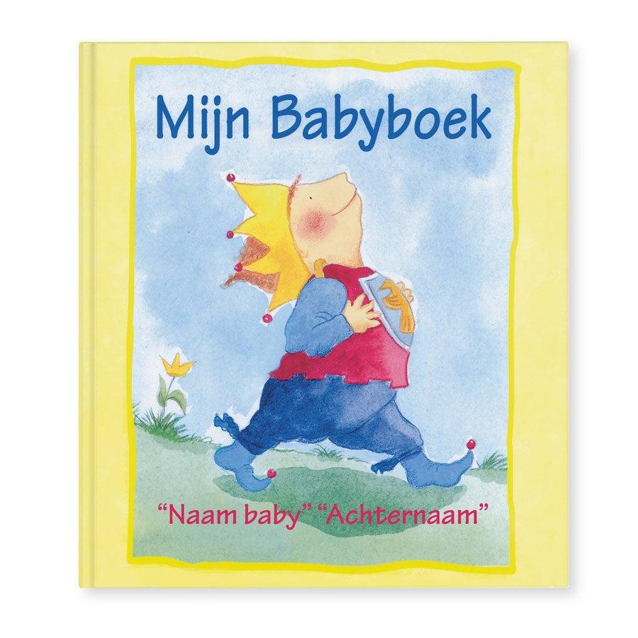 Boek met naam - Mijn Babyboek - Hardcover