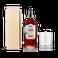 Conjunto de rum Peaky Blinders com vidro gravado
