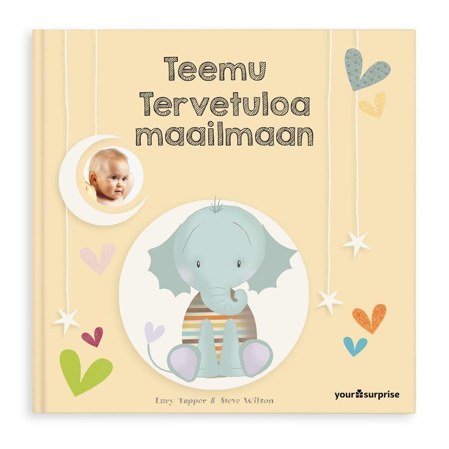 Vauvakirja nimellä - Tervetuloa maailmaan - kova kansi