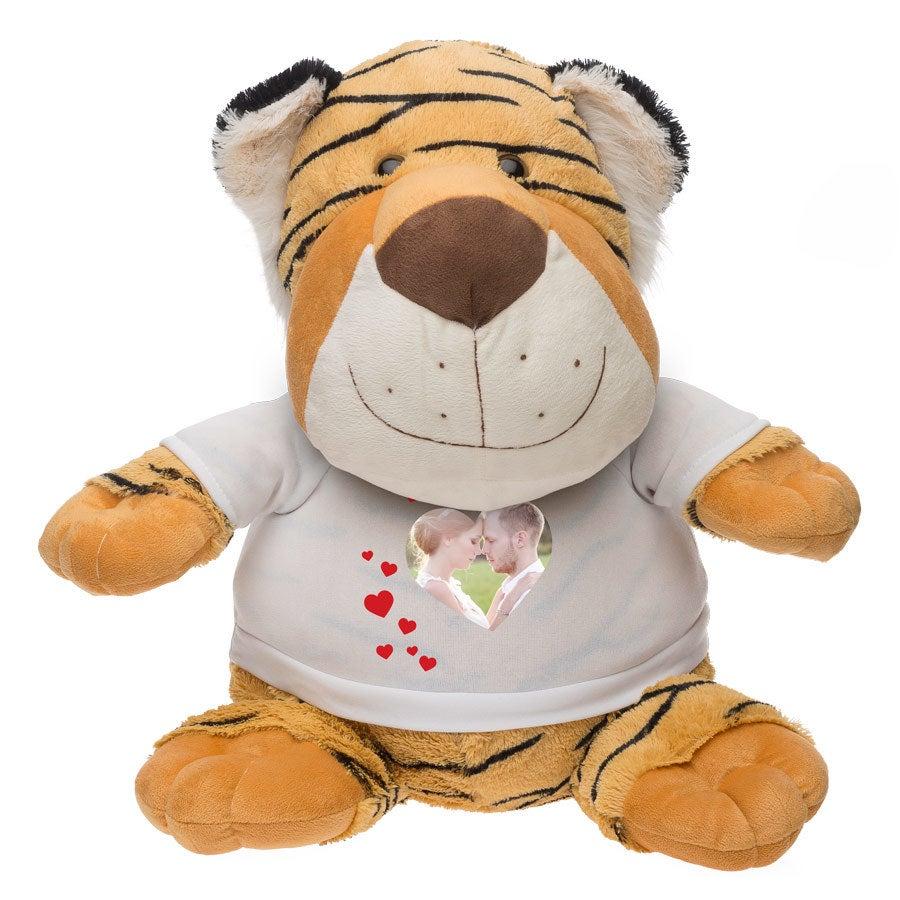 Grote tijger knuffel
