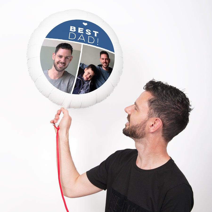 Balon z fotografi± - Dzieñ Ojca