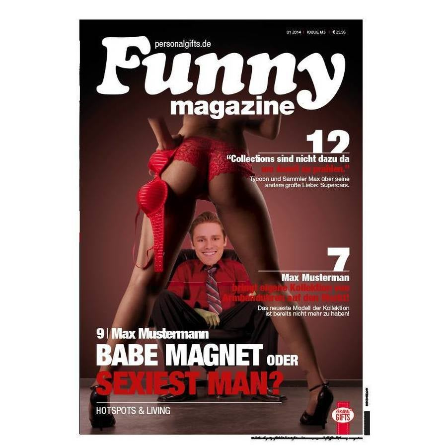 Funny magazine Poster - Babes - A1