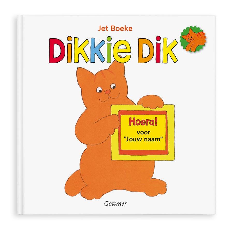 Boek met naam - Dikkie Dik - Hoera voor jou! - Hardcover