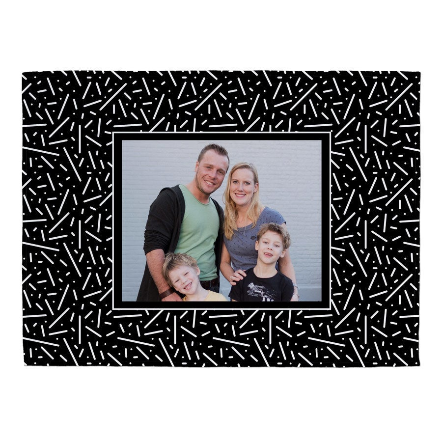 Fleece photo blanket - 100x75cm