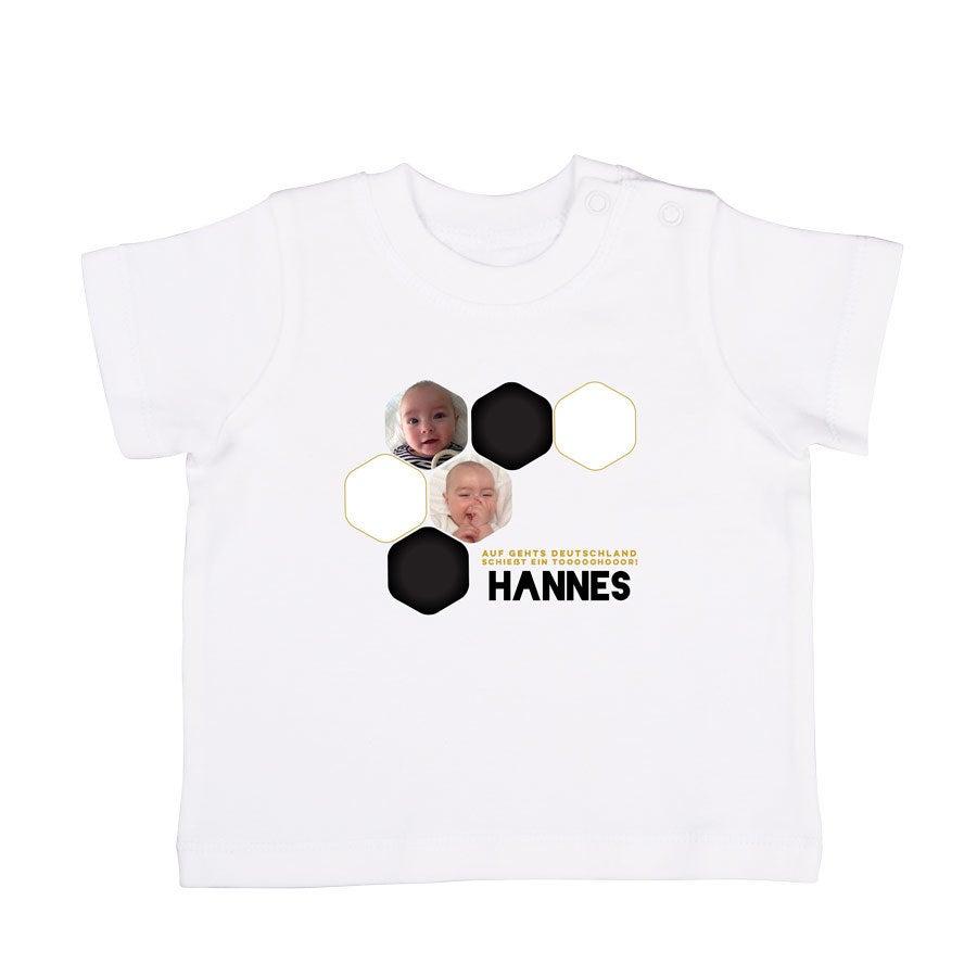 WM T-Shirt - Baby - Weiß - 50/56