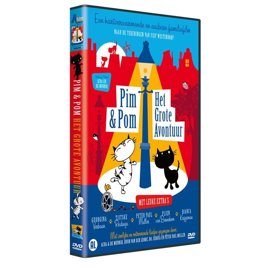 Pim & Pom DVD - Het grote avontuur