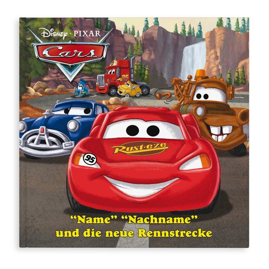 Buch mit Namen und Foto - Disney - Cars
