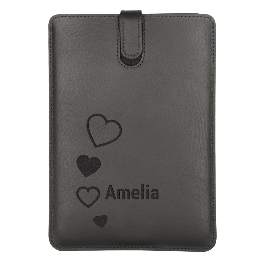 Funda de tablet - Piel - iPad Mini 2 - Negro