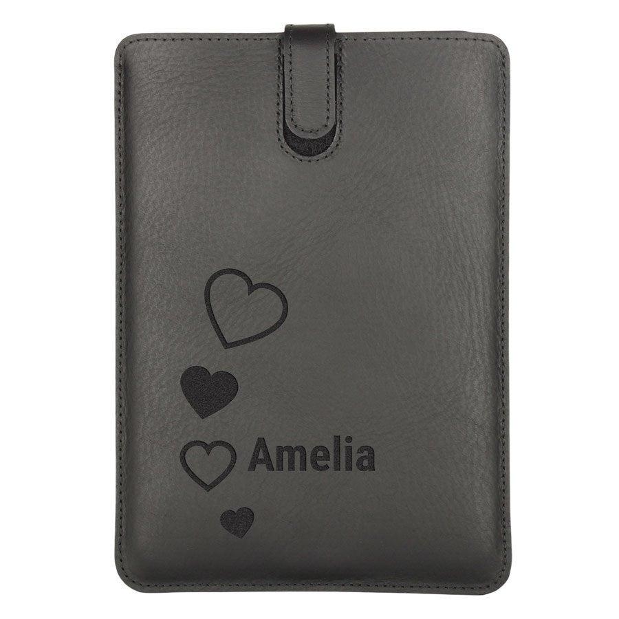 iPad Mini 2 leather case - Black