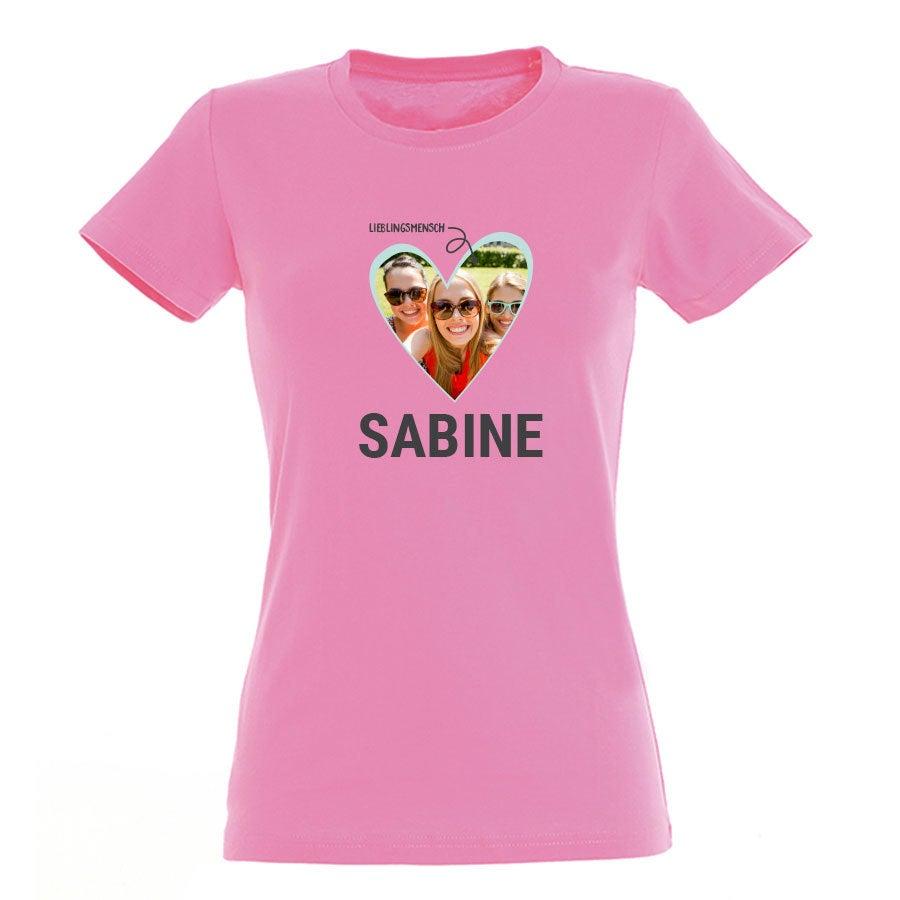 T-Shirt  Damen -  Fuchsia - S