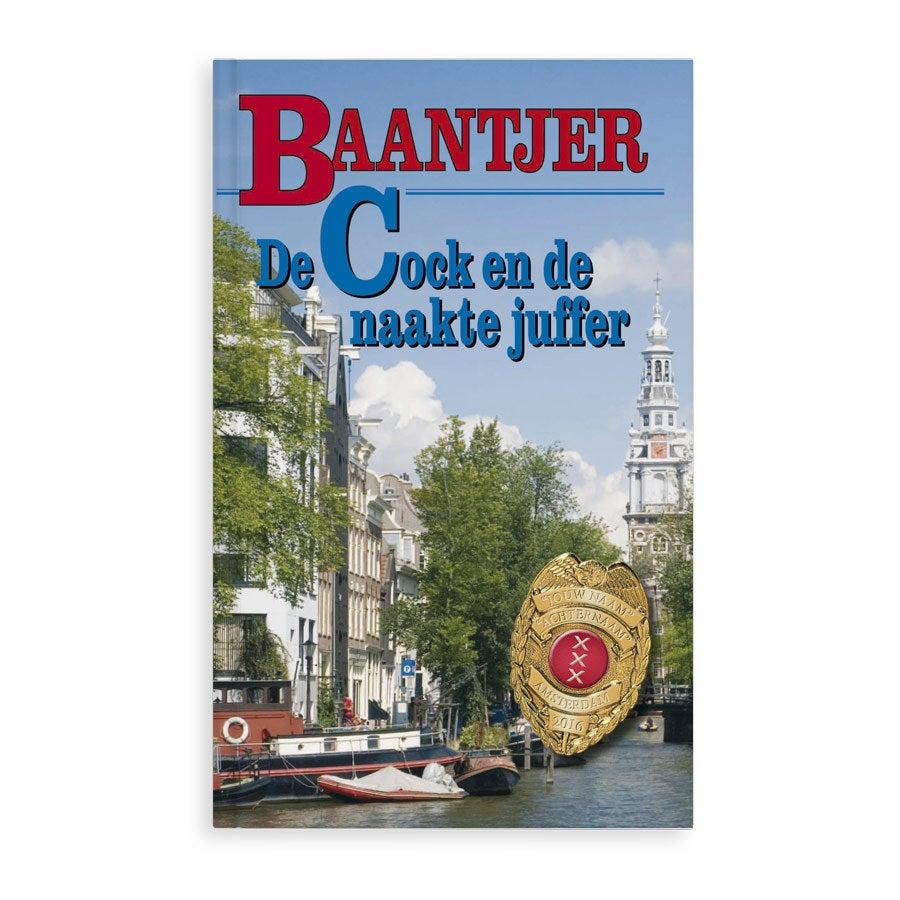 Baantjer boek met naam - De naakte juffer - Softcover