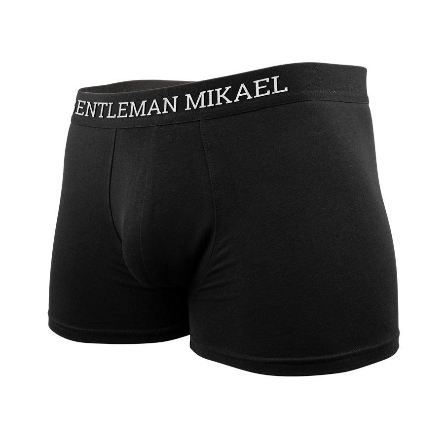Fehérnemű - Személyre szabott boxer - M méret - Név