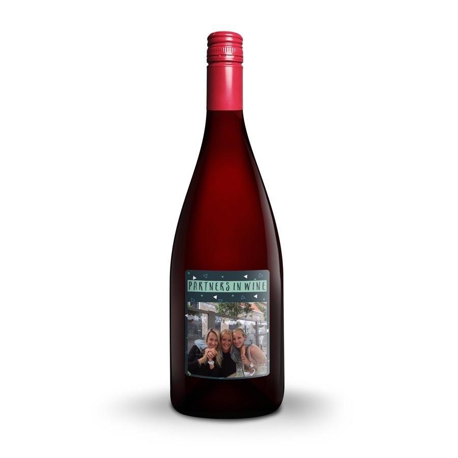 Wijn met bedrukt etiket - Emil Bauer Spätburgunder