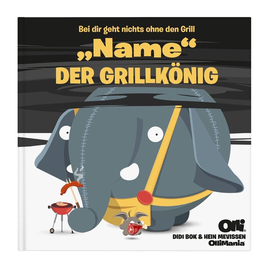 Individuellmedien - Buch Ollimania Der Grill König XXL (HC) - Onlineshop YourSurprise