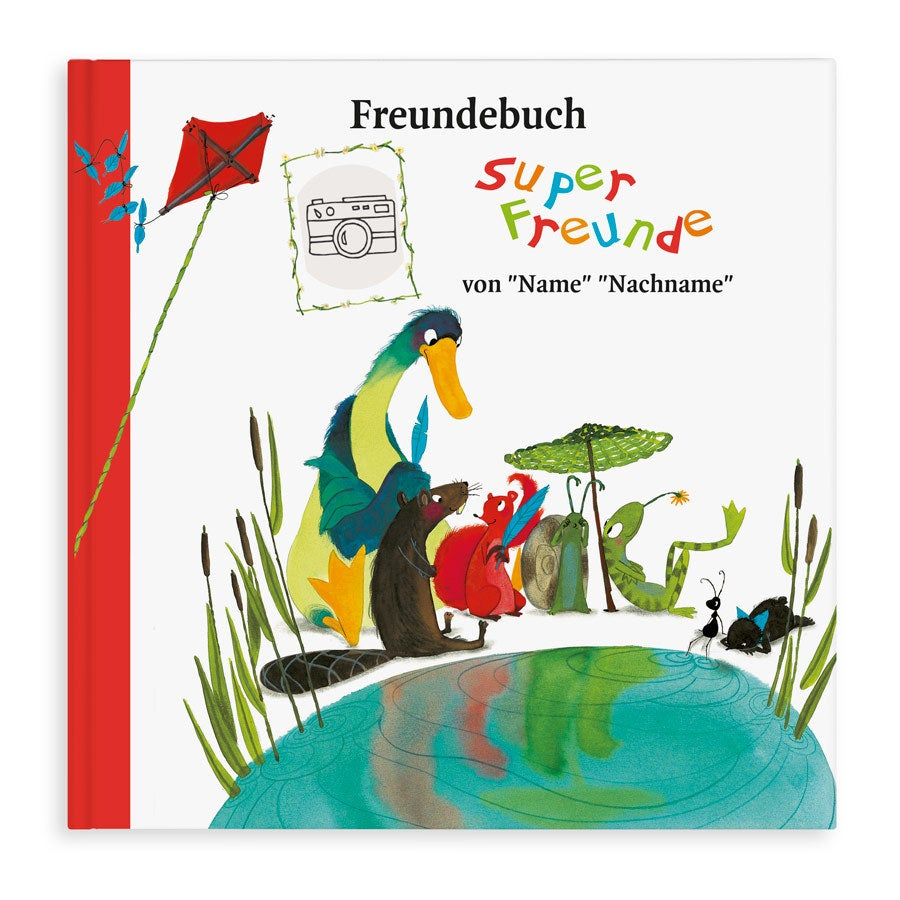 Individuellmedien - Freundebuch Softcover - Onlineshop YourSurprise