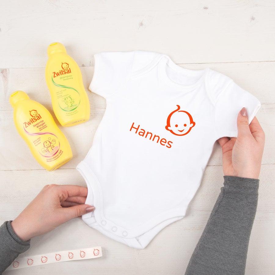 Individuellbabykind - Zwitsal Babypflege Set Baby Body (Größe 62 68) - Onlineshop YourSurprise