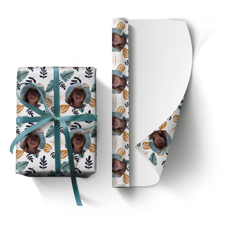 Personalised wrapping paper (L)
