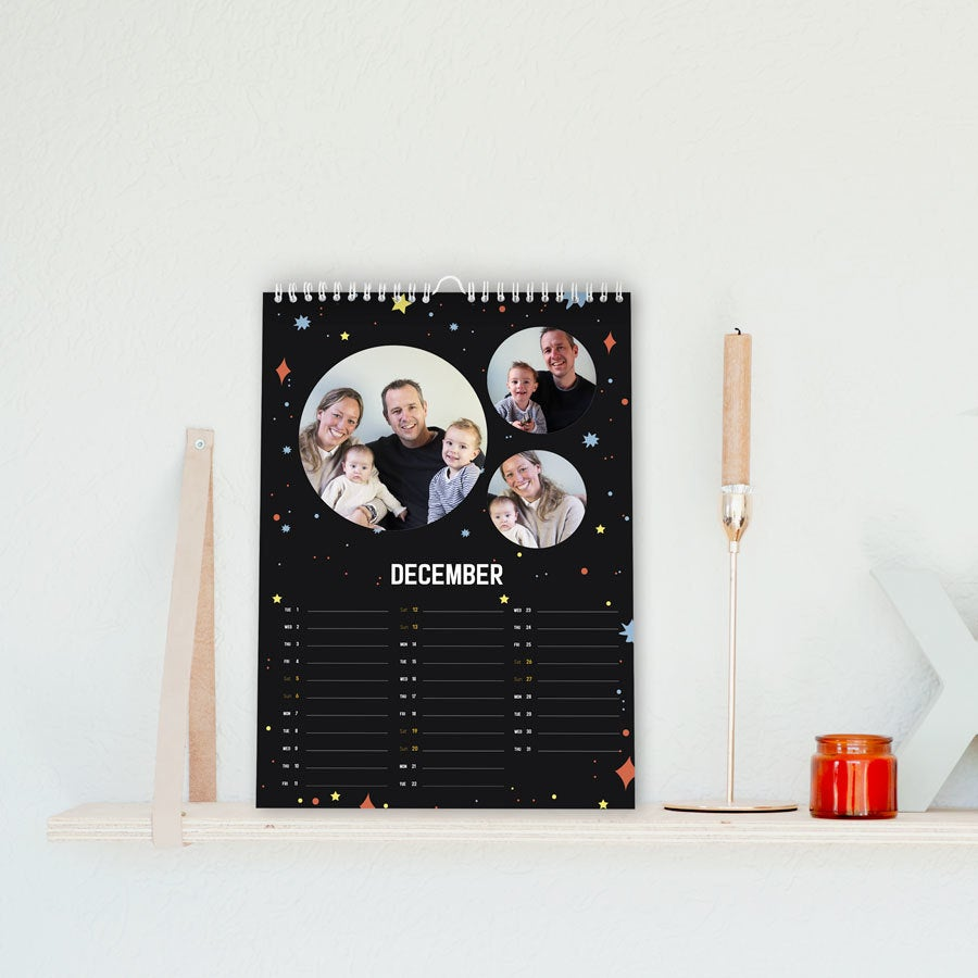 Calender 2020 - A4 - one-sided - vertical