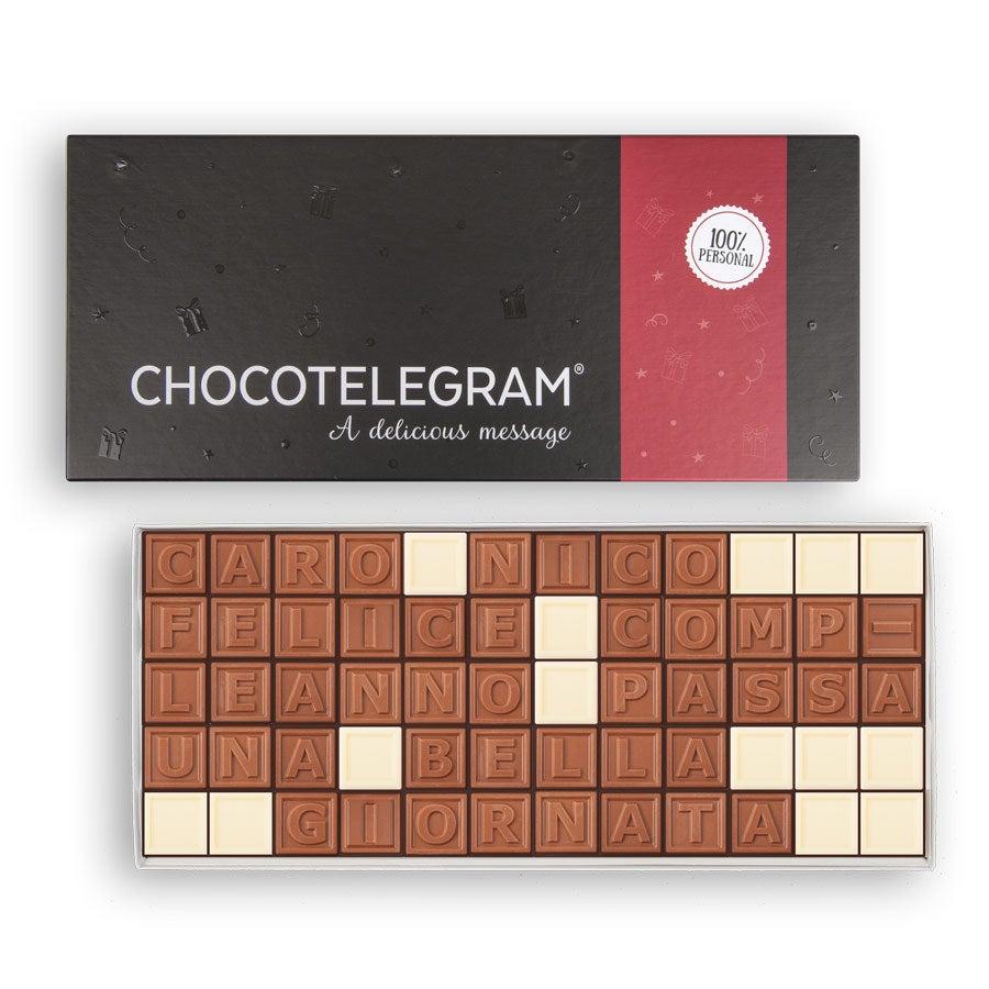 Telegramma di cioccolato - 60 caratteri