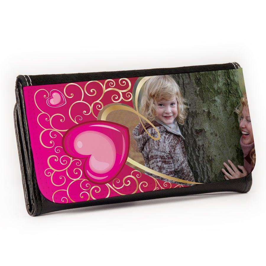 Lompakko omalla kuvalla