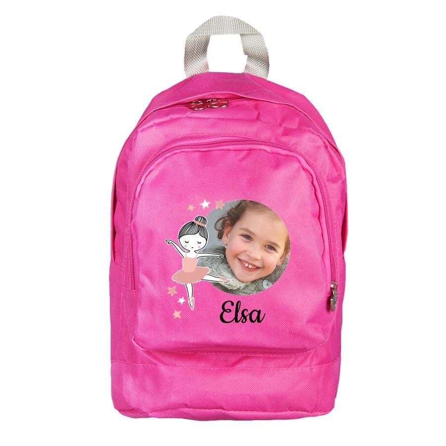 Koulureppu - pinkki