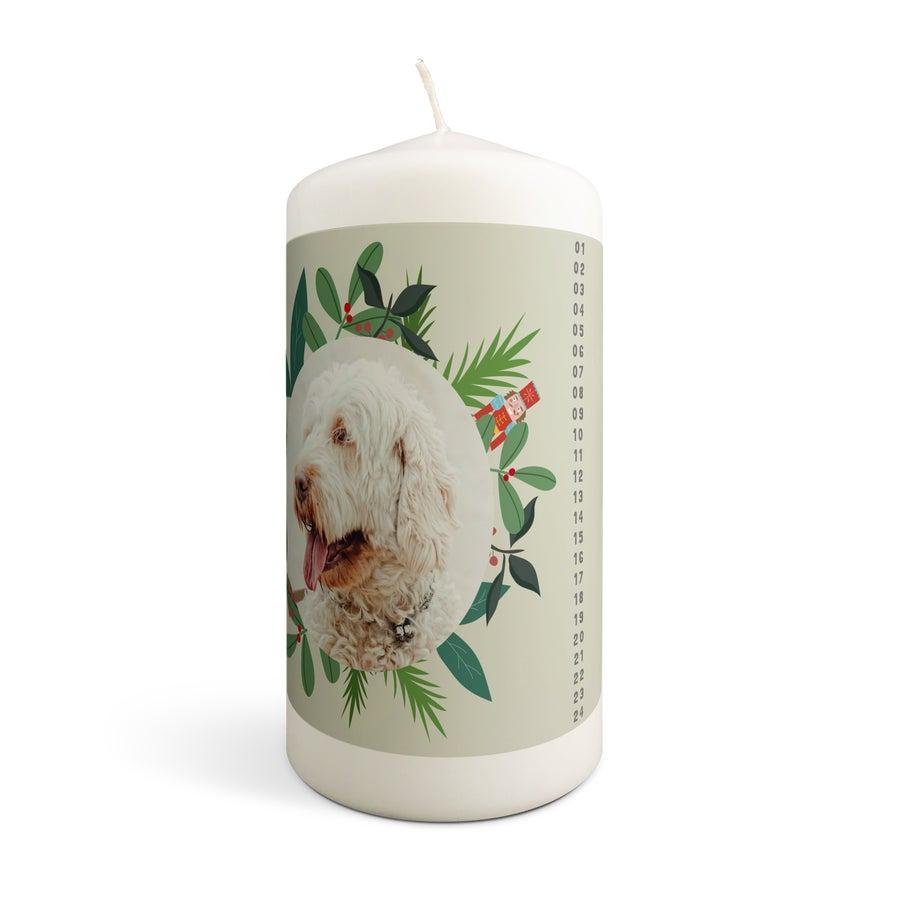 Vánoční adventní svíčky