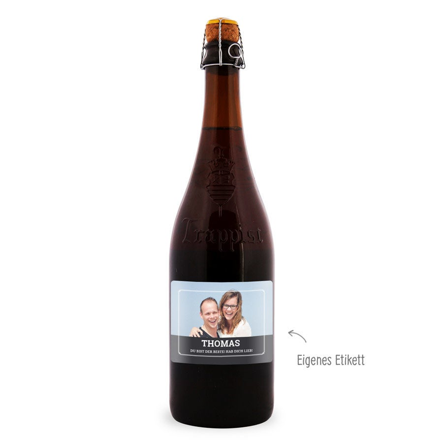 Bier - La Trappe Quadrupel - Etikett