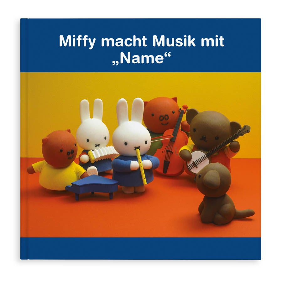 Individuellmedien - Miffy macht Musik Hardcover - Onlineshop YourSurprise