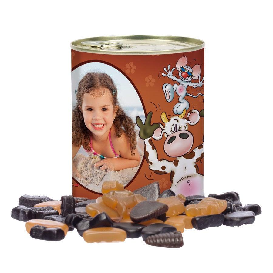 Doodles tin of sweets - Liquorice allsorts
