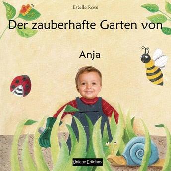 Buch mit Namen - Der zauberhafte Garten