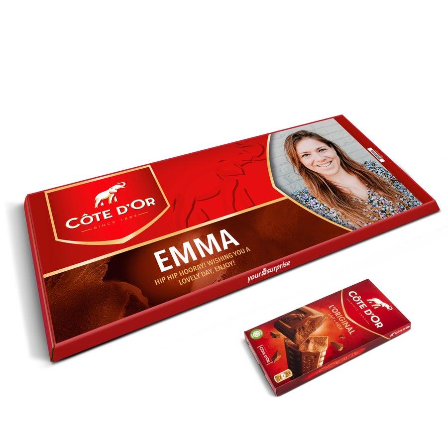 Óriás Côte d'Or csokoládé névvel