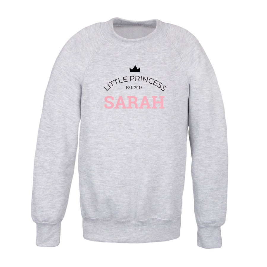 Sweatshirt - Kids - Grey - 2years