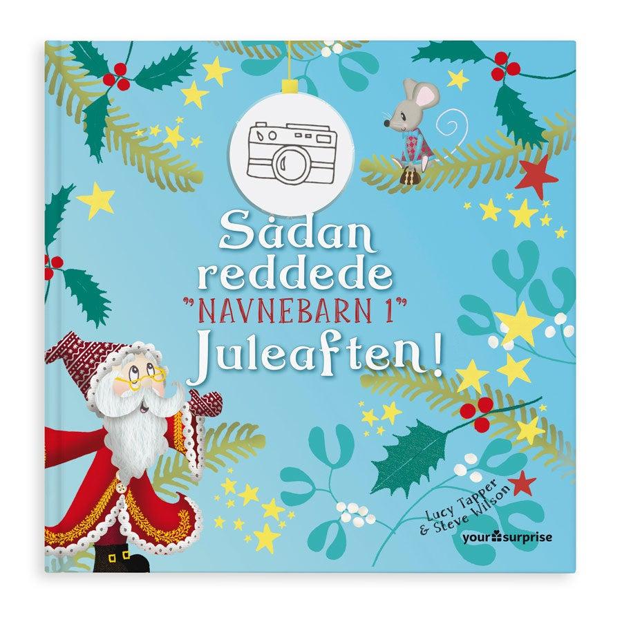 Personlig bog -  Gaven der redder julen - Hårdt omslag