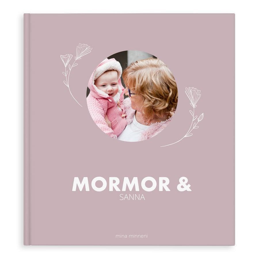 Fotobok -  Mor-/farmor och jag/vi  - XL - Hardcover - 40
