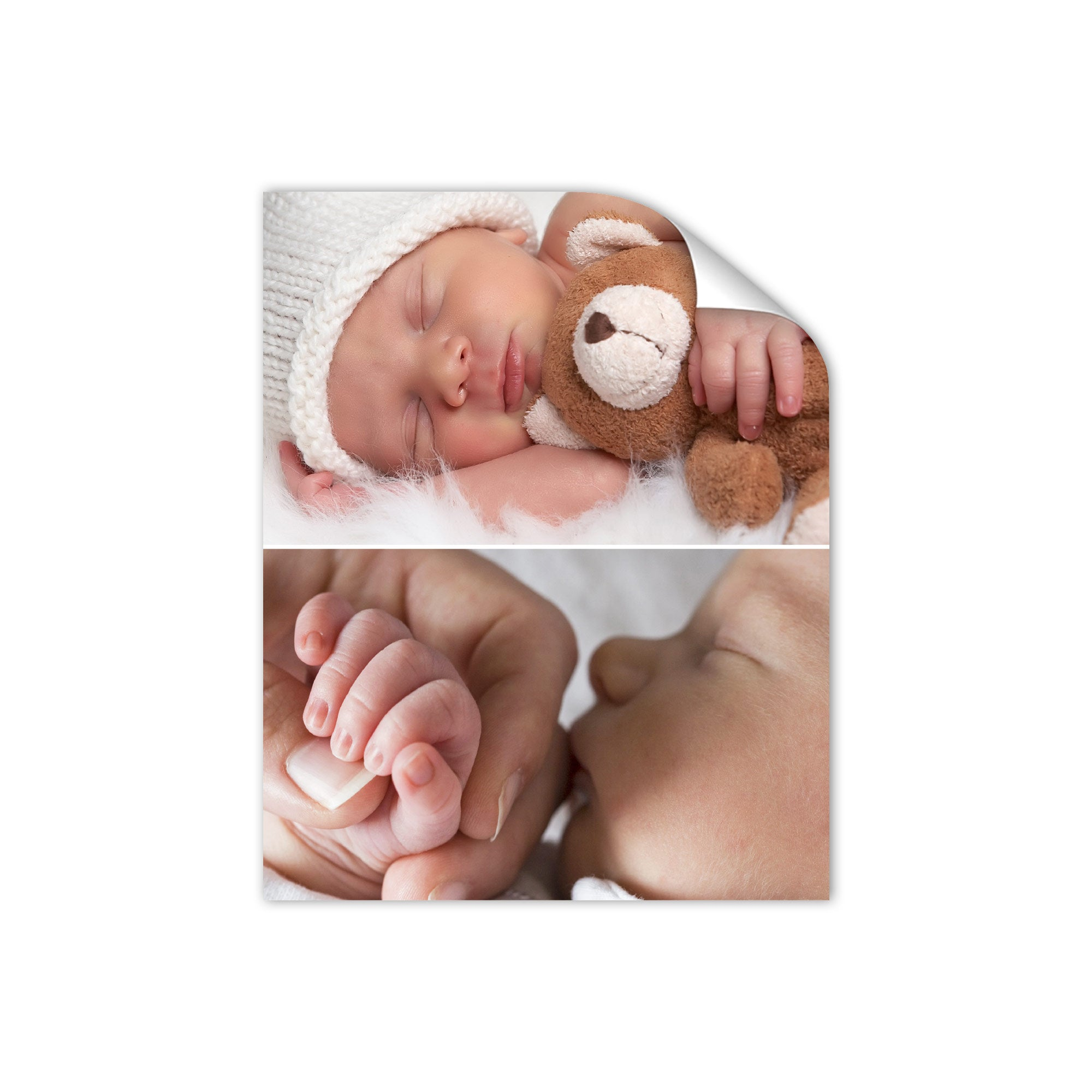 Geboorteposter ontwerpen - 40 x 50 cm