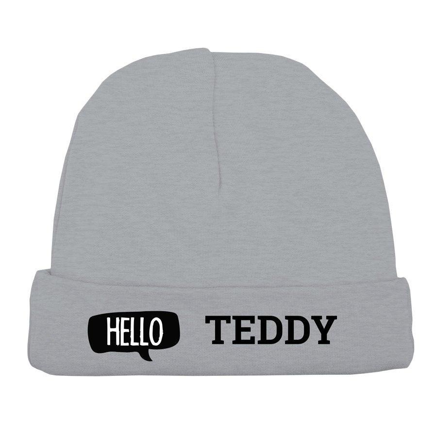Vauvan hattu - harmaa