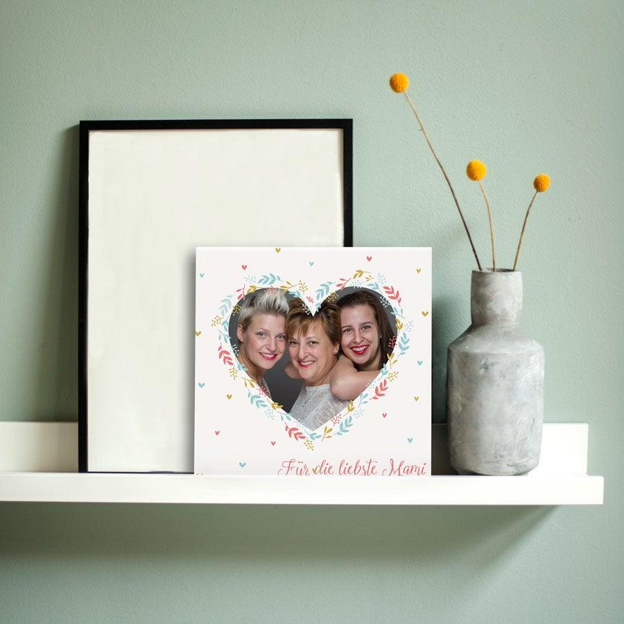 Muttertag Fotofliese - Keramik